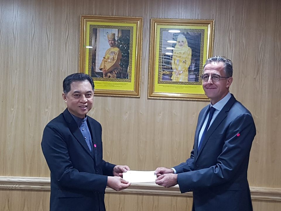 13 April 2020 – Cheque Donation to Ministry of Health