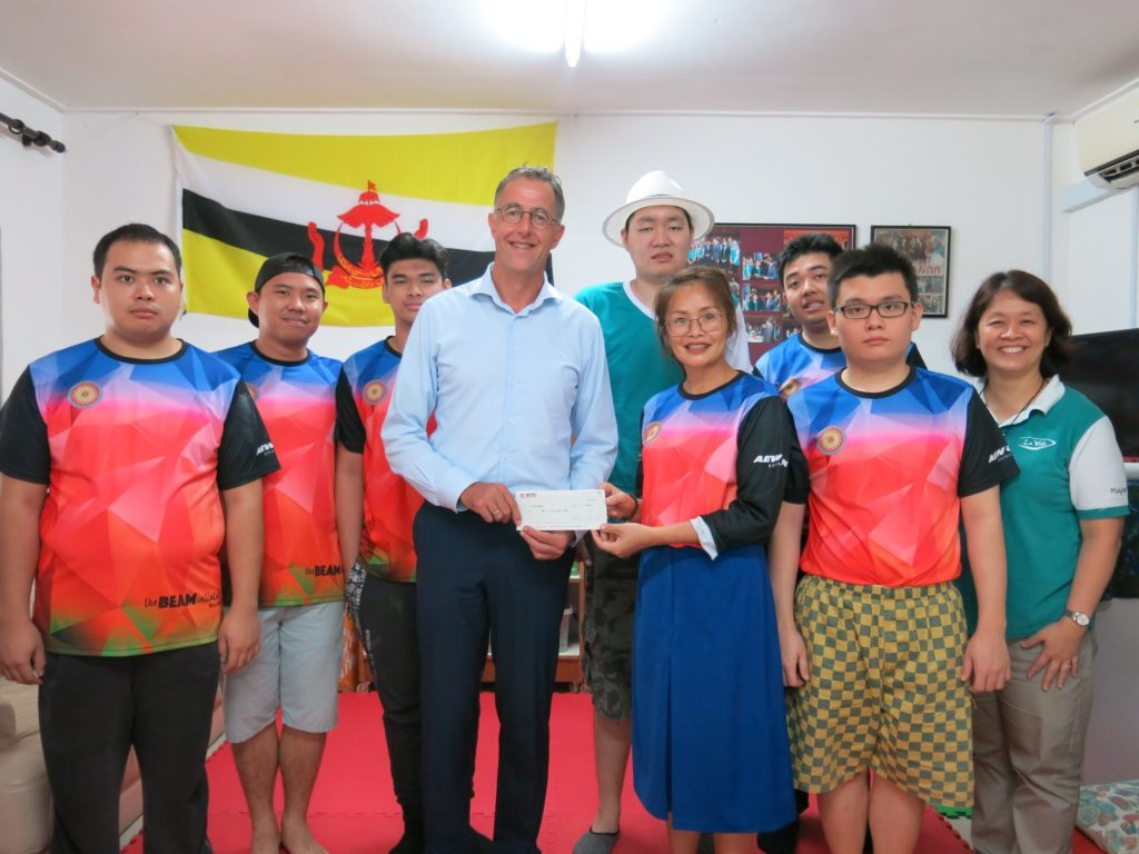29 January 2020 – Cheque donation to La Vida Berhad